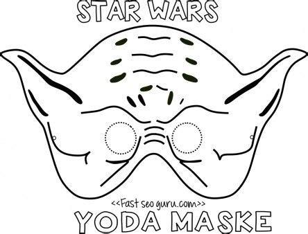 yoda face coloring page printable yoda mask template for kids easton s yoda