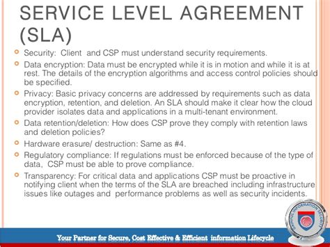 Agreement Letter Adalah Cloud Computing Service Level Agreements