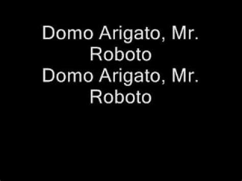 lyrics mr styx mr roboto lyrics