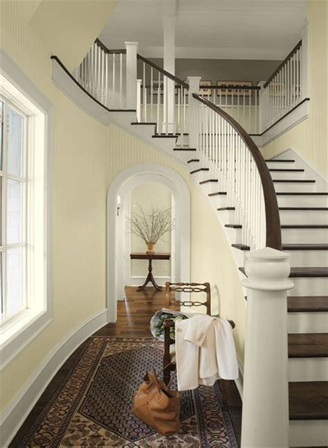 interior paint ideas and inspiration paint colours entryway and upstairs hallway