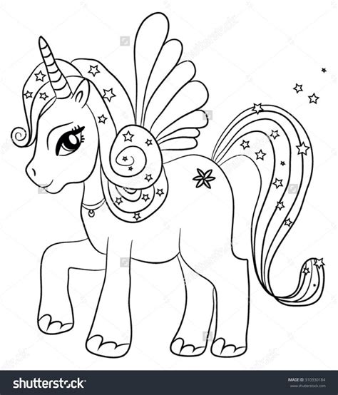Download Coloring Pages Unicorn Coloring Page Unicorn Childrens Colouring Pages Free