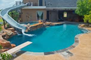 Luxury backyards traditional pool austin by cody pools inc