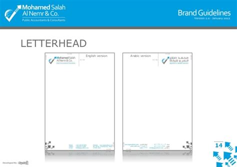 Business Letterhead Guidelines Msn Brand Guidelines V2 0