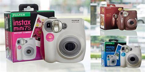 Kamera Polaroid Fujifilm Terbaru promo spesial kamera polaroid instax fujifilm 7s refill