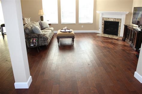 wood tile flooring in living room amazing tile pam s wood tile floors and fireplace traditional