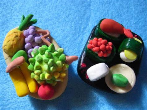 membuat gantungan kunci dari clay tepung kerajinan tangan hiasan dining dan gantungan kunci multi