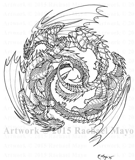 advanced coloring pages of dragons 558 best dragons to color images on pinterest