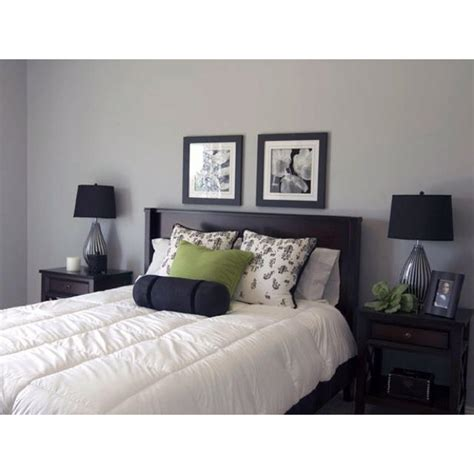 gray and green bedroom gray bedroom with green accent home interior pinterest