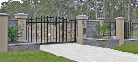 Home Driveway Design Ideas sliding gates perth melbourne brisbane oxworks