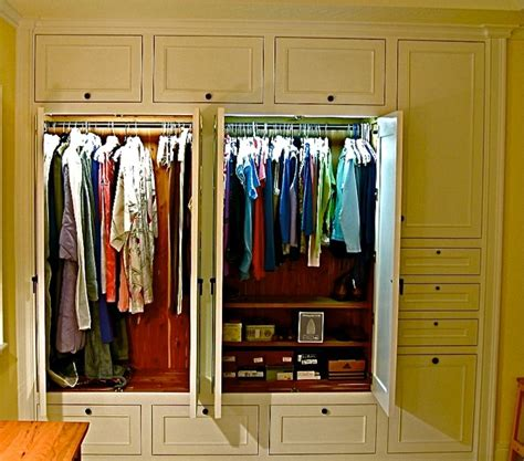 Custom Built Closets Custom Built In His Hers Closets Decor