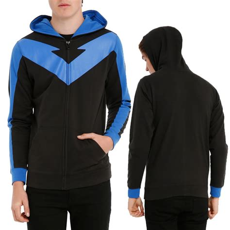 Hoodie Zipper Anak Robin 313 Clothing image gallery nightwing costume