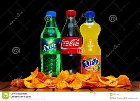 Coca Cola Sprite Fanta coca cola fanta e sprite fotografia editoriale immagine 37215547