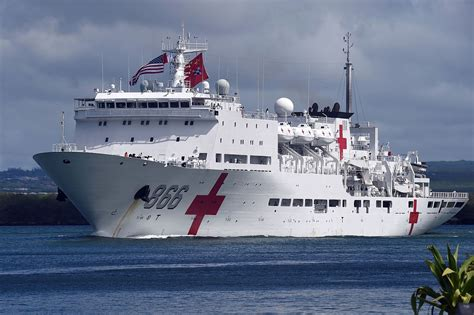 hospital ship china s naval hospital ship heads to africa defpost