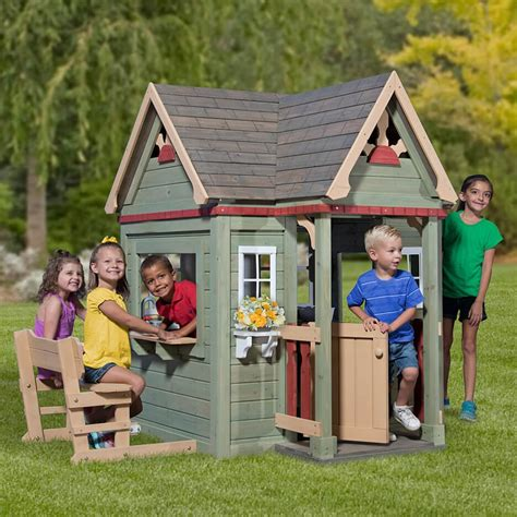 backyard discovery inn playhouse activity toys