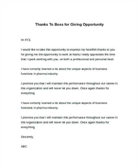 thank you letter business opportunity sle thank you letter ideas collection thank you letter to