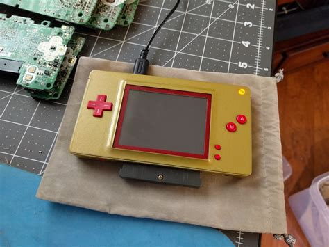 mod gameboy micro game boy macro fan made successor to the game boy micro
