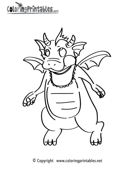 dragon baby coloring page   fantasy coloring printable