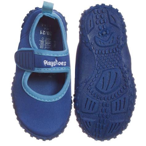 Boots Uv L by Playshoes Blue Aqua Uv Shoes Childrensalon