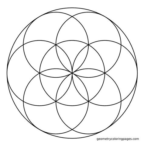 sacred geometry coloring book sacred geometry coloring page seed coloring pages