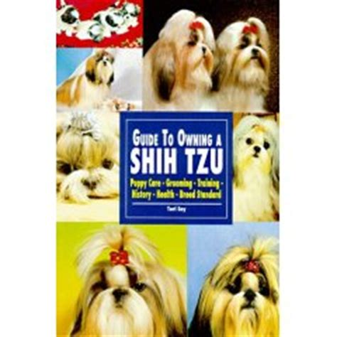 allshihtzu s book of shih tzu care books guide to owning a shih tzu