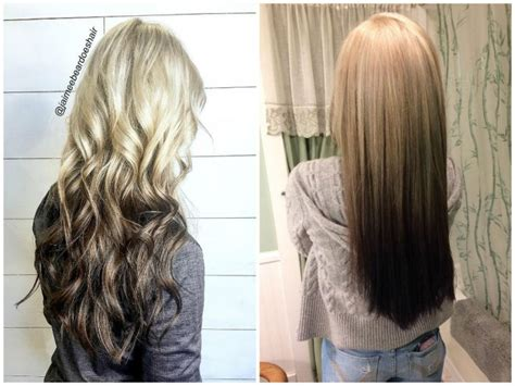 short hair w reverse ombre hair reverse ombre hair color reverse ombre hair color