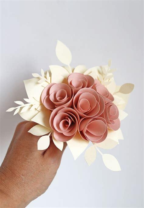 bouquet fiori di co oltre 20 migliori idee su bouquet di fiori di carta su