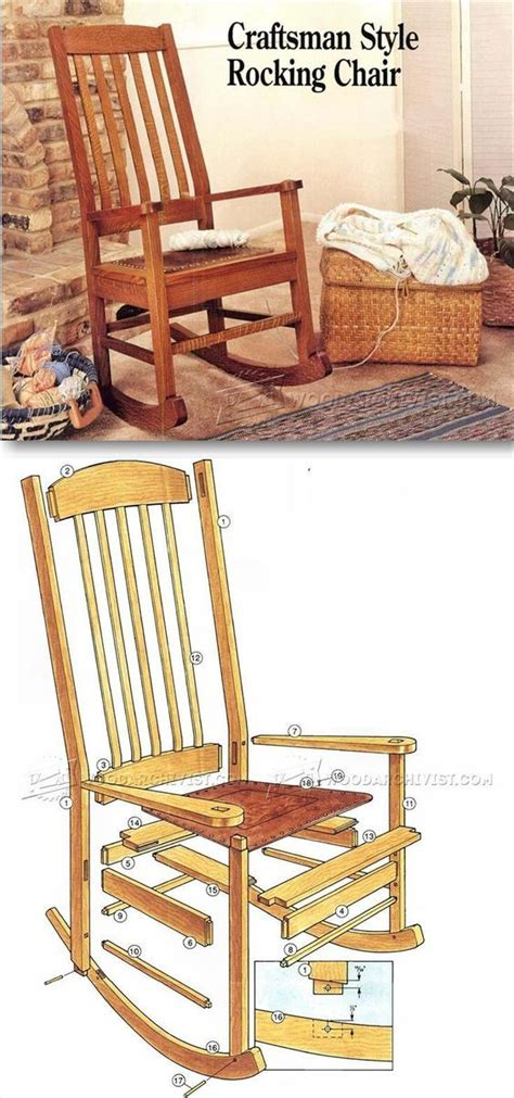 craftsman furniture plans best 25 craftsman rocking chairs ideas on pinterest