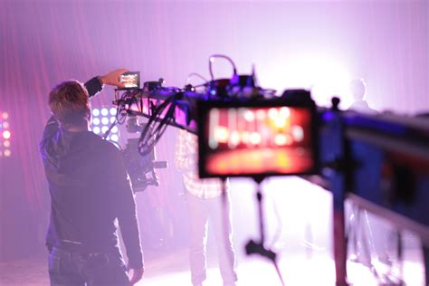 lighting production  video shoot seventh story