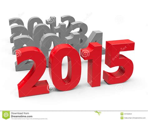new year represents 2015 come stock illustration image 44122254