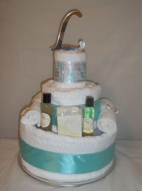 tea towel cake for wedding shower 17 best bridal shower towel cakes images on shower towel wedding showers and bridal