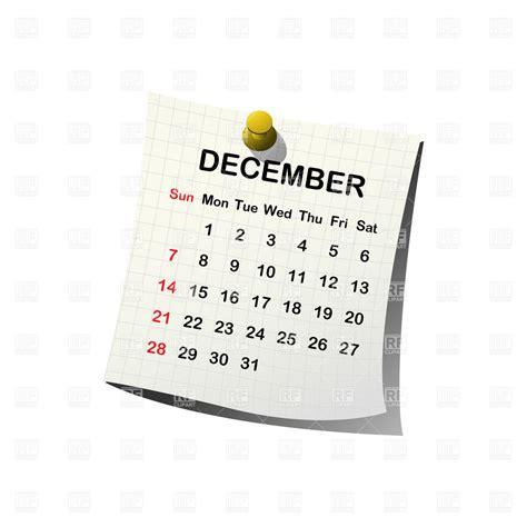 clip art calendar december blank calendar 2017