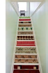Lino On Stairs by Dishfunctional Designs Intimate Stairs Painted