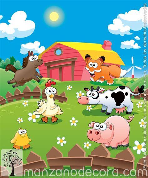 imagenes infantiles granja estor enrollable fotogr 225 fico infantiles granja 01
