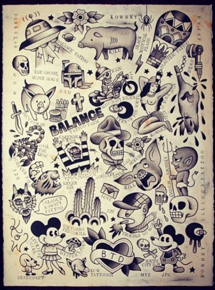 old school tattoo flash 48 best designs images on design