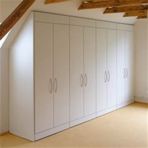 Sloped Ceiling Wardrobe by Hack Closet Storage For Loft Bedroom With Sloping