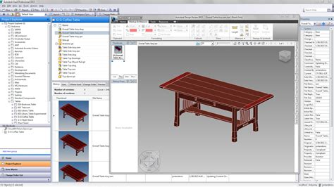 my autodesk my craftsman style coffee table it s been in vault for years