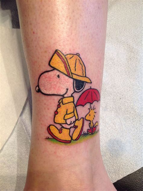 my tattoo removal my fourth and favorite snoopy snoopy tattoos