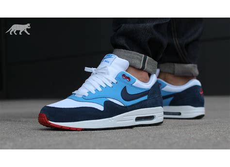 Nike Airmax 1 Blue Navy nike air max 1 essential midnight navy blue sneakerb0b releases