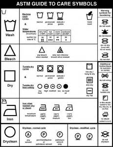 Dryer Symbol On Clothing Tags 25 Best Ideas About Laundry Care Symbols On
