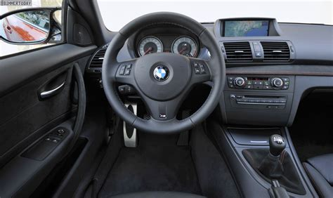 Bmw 1er M Coupe Innenraum by Das Bmw 1er M Coup 233 Ultimativer Fahrspa 223 In Der