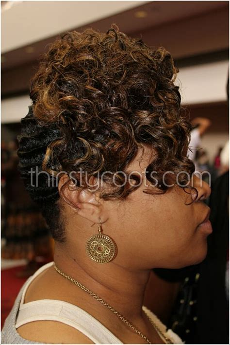 Black Hair Finger Waves Hairstyles black hair finger waves hairstyles