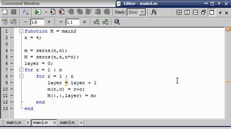 Mat Lab Tutorial matlab tutorial tradeoffs code complexity vs data storage