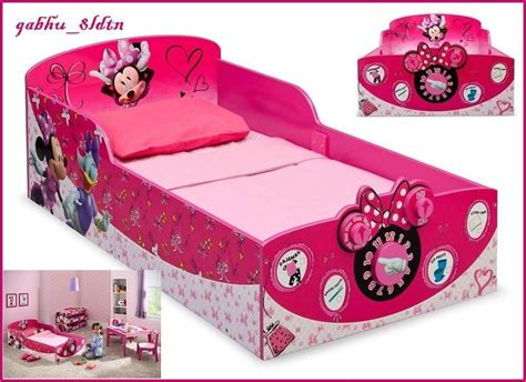 minnie mouse bedroom furniture interactive wood toddler bed minnie mouse kids disney