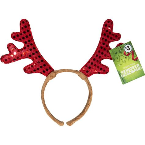 free printable reindeer headband christmas reindeer headband each woolworths