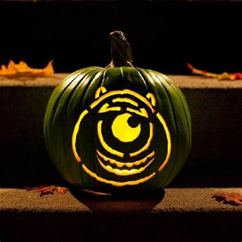 mike wazowski pumpkin template mike wazowski pumpkin carving template disney family