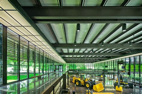 Deere Corporate Office by Deere Company World Headquarters Moline Il