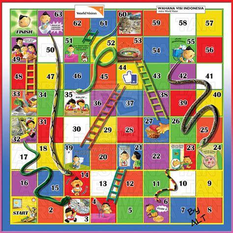 Playmat Snakes And Ladders Mainan Anak Ular Tangga Besar Jt835 ular tangga related keywords ular tangga