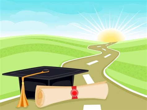 education wallpaper background free high quality graduation and life ppt backgrounds http