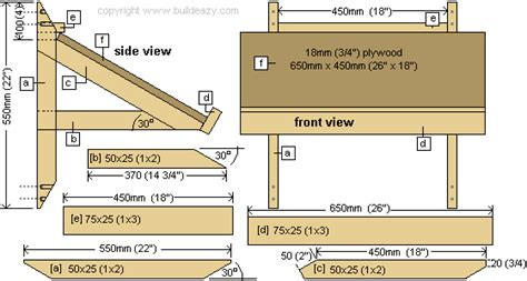 plans for building a drafting table wall desk plans