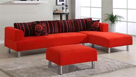 red sectionals red microfiber sectionals highlight your living room